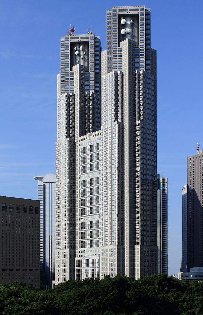 圖片取自http://commons.wikimedia.org/wiki/File:Tokyo_Metropolitan_Government_Building_2012.JPG