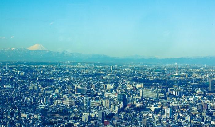 展望台上的景色-富士山 圖片取自https://www.flickr.com/photos/pauldc/7864421826/