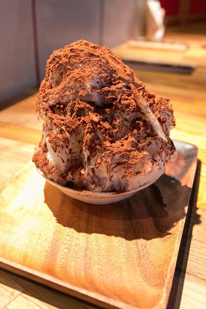 店裡最受歡迎的提拉米蘇剉冰 圖片取自https://www.flickr.com/photos/norio-nakayama/13488313774
