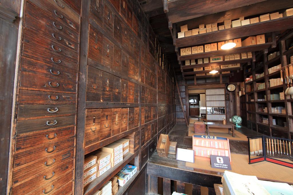 武居三省堂(文具店)的內部 圖片取自https://www.flickr.com/photos/tanaka_juuyoh/4383348289