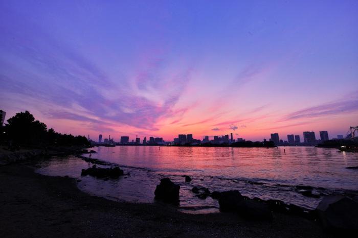台場海濱公園 圖片取自:http://www.flickr.com/photos/marumeganechan/13305171963