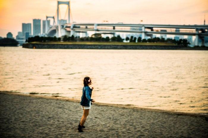 台場沙灘 圖片取自:https://www.flickr.com/photos/torek/13638228975