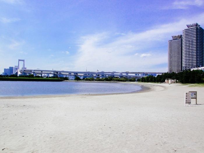 台場沙灘 圖片取自:https://www.flickr.com/photos/31029865@N06/17048672186/