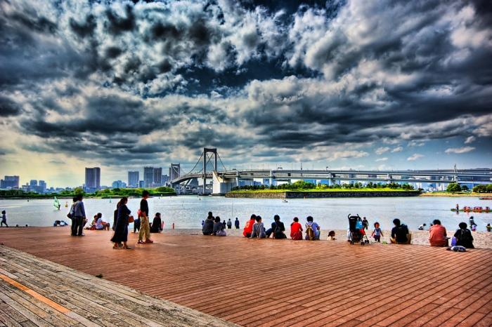台場海濱公園 圖片取自:https://www.flickr.com/photos/47741487@N06/4893730790/