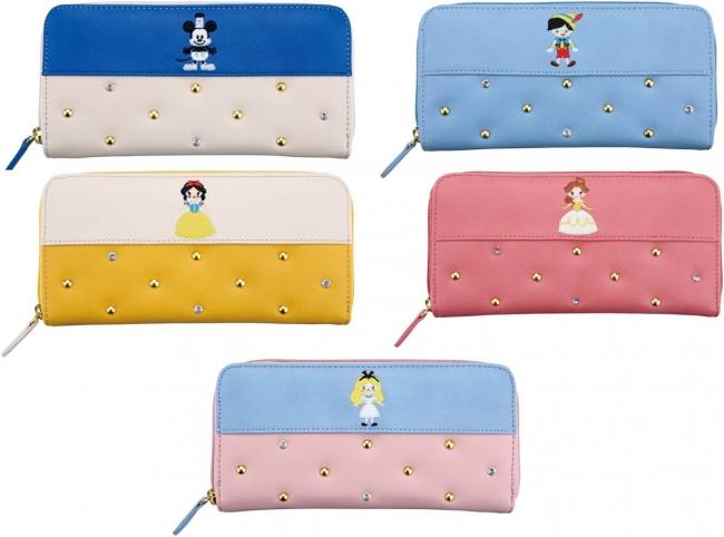 迪士尼十月新包,長皮夾。圖片取自官網:http://store.disney.co.jp/special/bagseries.aspx