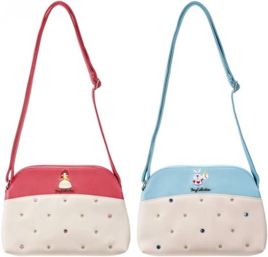迪士尼十月新包,小皮包。圖片取自官網:http://store.disney.co.jp/special/bagseries.aspx