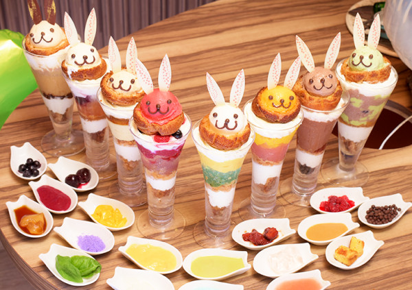 Nicolas House兔子甜點。圖片取自官網:http://www.nicolasusagi.com/