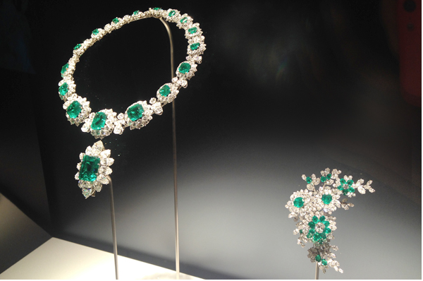 BVLGARI珠寶展。圖片取自:http://www.enjoytokyo.jp/style/105022/