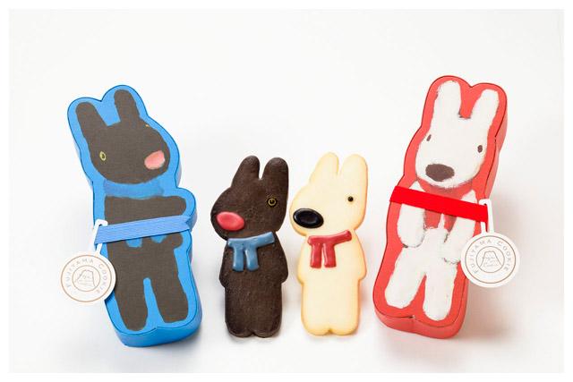 Gaspard & Lisa造型餅乾。圖片取自官網。