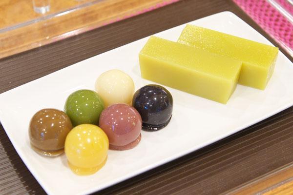 豆沙涼圓甜點組合。圖片取自:http://www.enjoytokyo.jp/style/105132/