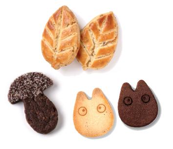 TOTORO餅乾。圖片取自官網。