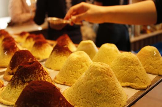 富士山波蘿麵包。圖片取自官網。