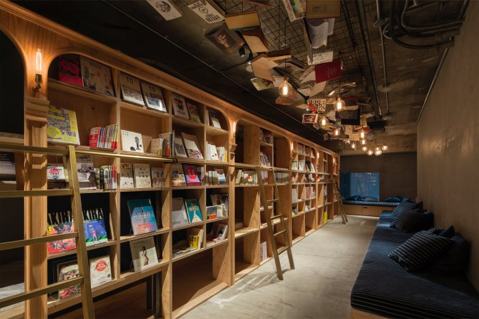 Book and Bed Tokyo。圖片取自官網。