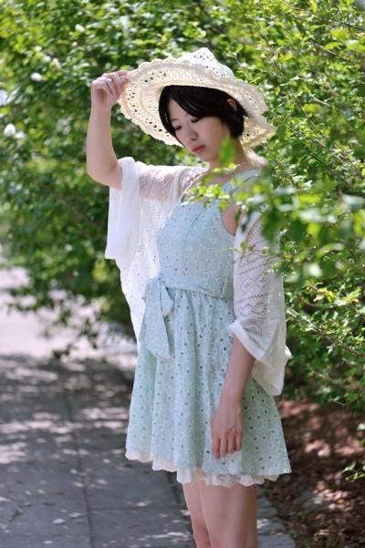 7月穿搭示意圖。圖片取自:http://mcha.jp/15327