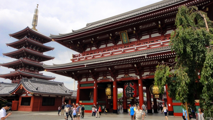 淺草寺。圖片取自:http://ppt.cc/ty7jF