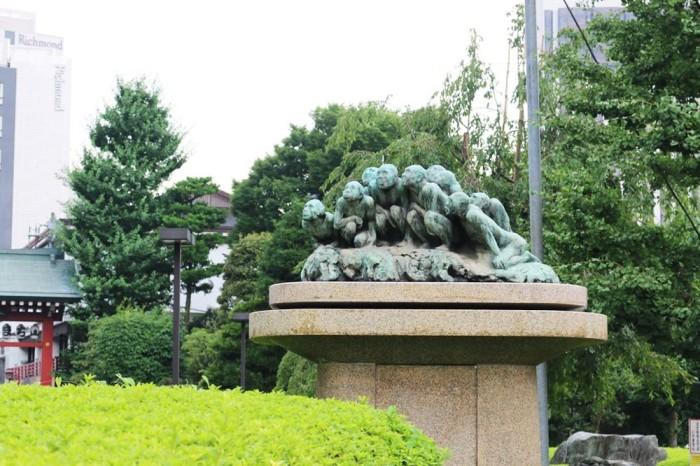 淺草寺慈雲の泉。圖片取自:http://mcha.jp/57815