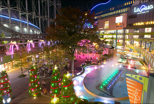TOKYO DOME點燈。圖片取自官網。