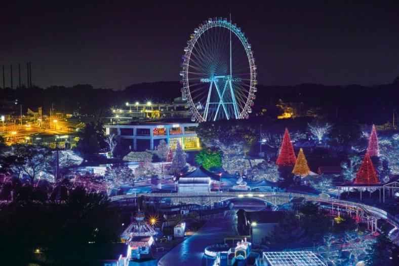 TOKYO DOME點燈。圖片取自:http://mcha.jp/75576